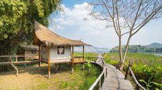 หลบความเหงา ไปนอนพัก บ้านกกกอด จ.กาญจนบุรี ที่แห่งนี้จะทำให้เรามีแต่ความสุข