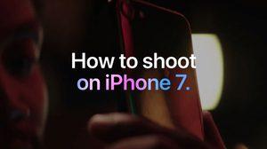 Apple ปล่อยวิดีโอแนะนำ วิธีถ่ายรูปบน iPhone 7 อย่างไรให้สวย!!