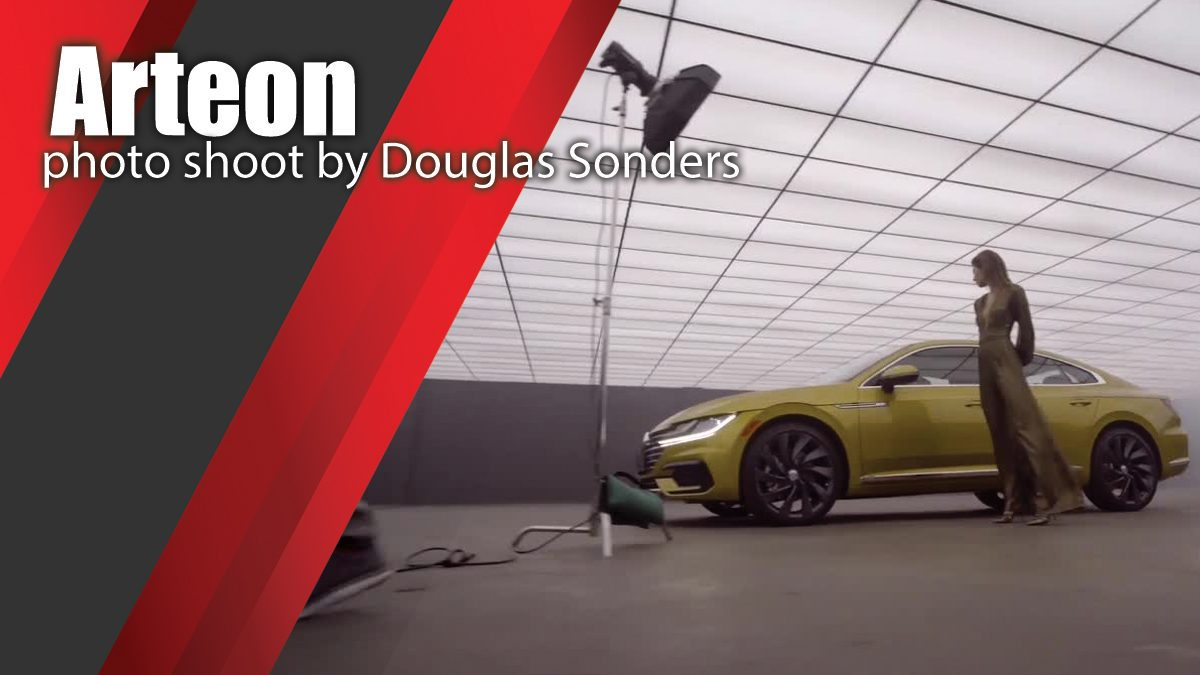 Arteon photo shoot by Douglas Sonders | behind the scenes