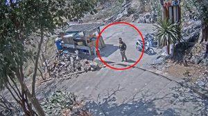 คลิปชัดมัดคนร้าย เดินตามแหม่มสาว ก่อนก่อเหตุข่มขืนฆ่า หมกเกาะสีชัง