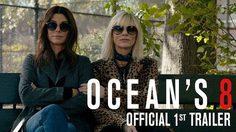8 สาวเข้าประจำตำแหน่ง!! แซนดรา บูลล็อก เปิดโปรเจกเตอร์วางแผนปล้น ในตัวอย่างแรก Ocean's 8