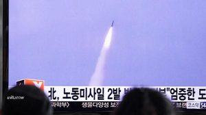 เปิดคลิป เกาหลีเหนือยิงขีปนาวุธ 'กดดันสหรัฐฯ'