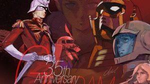 ดาราและแฟนๆ ร่วมยินดีกับการฉลองครบรอบ 35 ปี ซีรี่ย์ Gundam