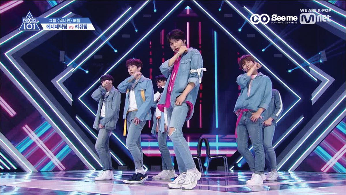 PRODUCE X 101 ㅣทีม We Are The World - WANNA ONE ♬ENERGETIC @การแข่งขันรอบ Group Battle [EP.4]