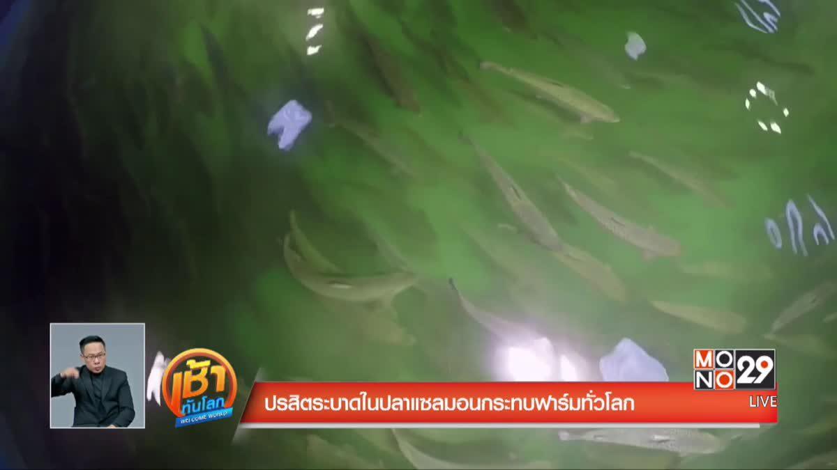 ปรสิตระบาดในปลาแซลมอนกระทบฟาร์มทั่วโลก