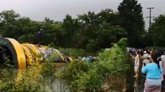 ตื่นตา! พิธีแห่ระฆังยักษ์ลอยน้ำ เข้าวัดป่าโนนแพง ที่นครพนม