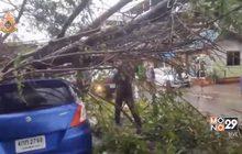 พายุฝนถล่ม อ.ศรีมหาโพธิ ปราจีนบุรี