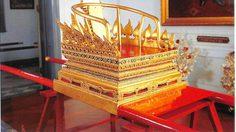 พระเสลี่ยงกลีบบัว พระราชยาน ในขบวนพระบรมราชอิสริยยศ