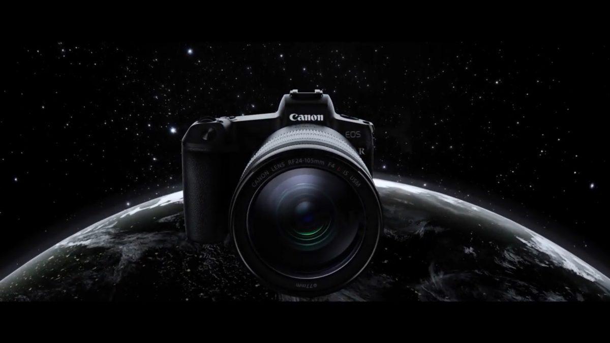 Canon EOS R กล้องมิลเลอร์เรสฟูลเฟรมรุ่นแรกของแคนนอน