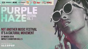 วงการฮิปฮอปจะลุกเป็นไฟ Rich The Kid นำทีมกับปาร์ตี้สุดมันส์ Purple Haze Festival Vol.1