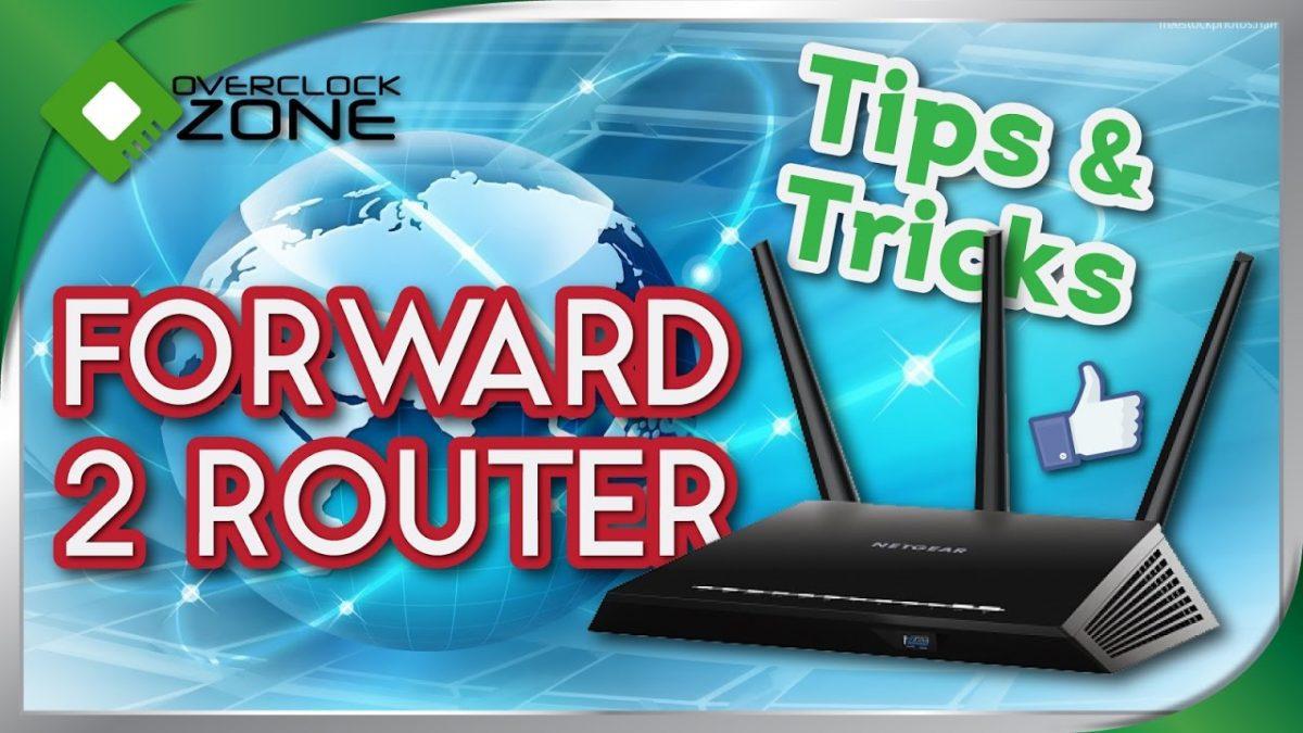 วิธีการ Forward Port Router สองตัว : แก้ปัญหา Router แถมไม่แรงพอ