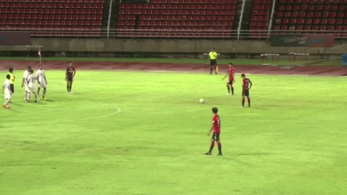 ทีมชาติไทย U21 เสมอกับ แบงค็อก ยูไนเต็ด 1 - 1