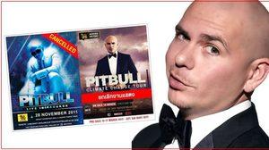 แฮตทริก! PITBULL ยกเลิกคอนเสิร์ต เทเมืองไทยเป็นครั้งที่ 3!!