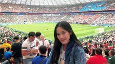 ดีเจ.ต้อง ศุภัชญา พร้อมผู้โชคดีตะลุยรัสเซียเชียร์บอลโลก