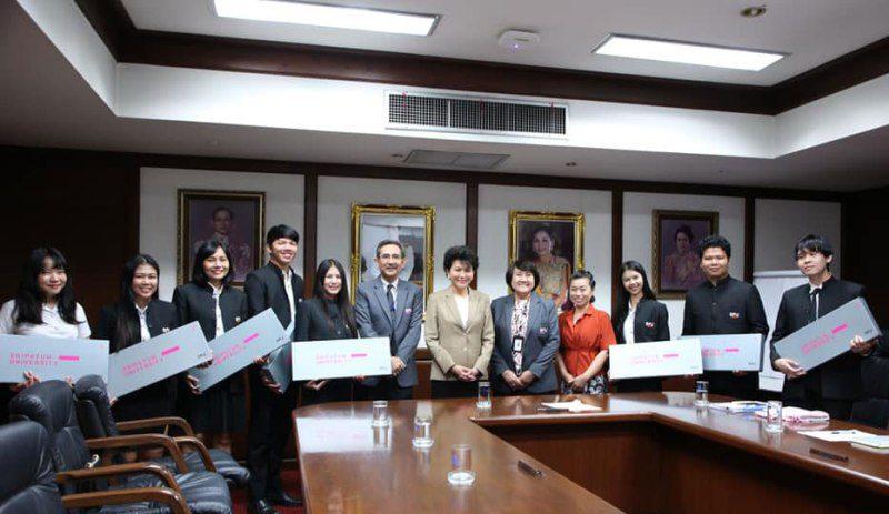 15 นศ.ภาษาญี่ปุ่นเพื่อการสื่อสารธุรกิจ ม.ศรีปทุม บินฝึกสหกิจศึกษานานาชาติ JAPAN