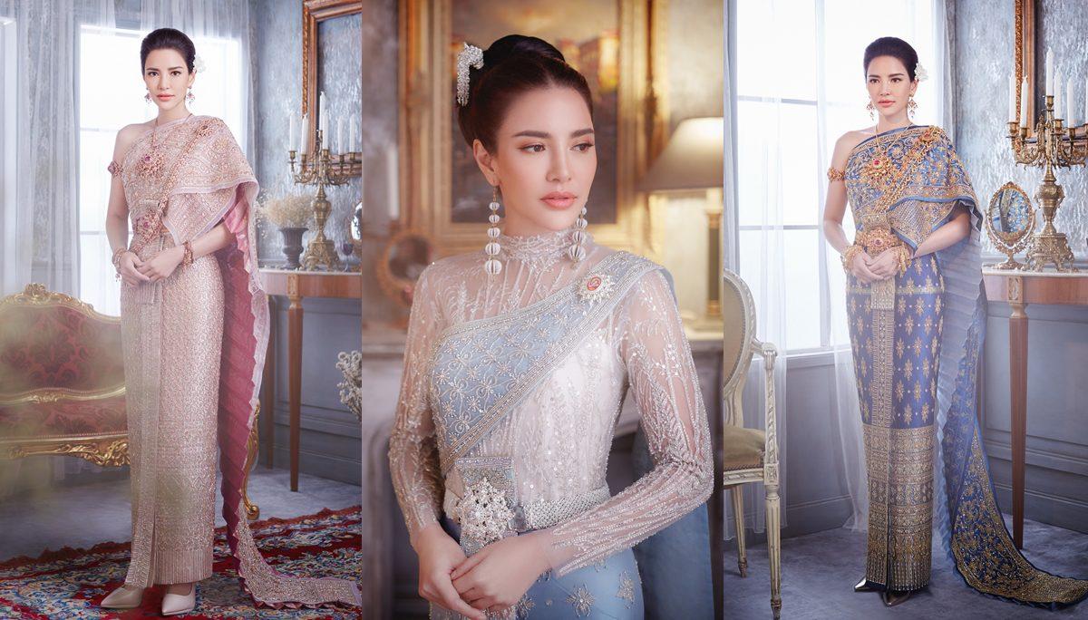 ชุดไทย ชุดไทยประยุกต์ ดาราในชุดไทย