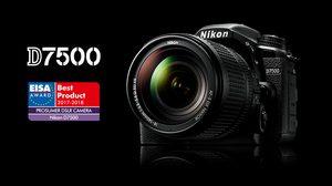 Nikon D7500 คว้ารางวัลกล้องยอดเยี่ยม จาก EISA 2017-2018