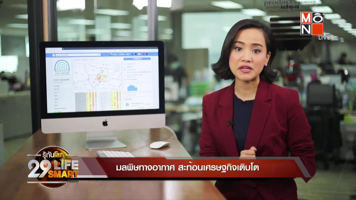 29 LifeSmart : รู้กินรู้ใช้ กับ ลงทุนแมน ตอน : มลพิษทางอากาศ สะท้อนเศรษฐกิจเติบโต
