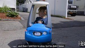 เด็กชายวัย 6 ขวบ แจ้งตำรวจจับพ่อตัวเอง หลังขับรถฝ่าไฟแดง