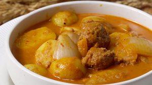 สูตร มัสมั่นมีทบอล อาหารไทยที่อร่อยที่สุดในโลก