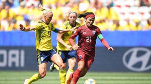 'กาญจนา' เบิกสกอร์แรกใน ฟุตบอลหญิงชิงแชมป์โลก ก่อนชบาแก้วพ่าย สวีเดน 1-5