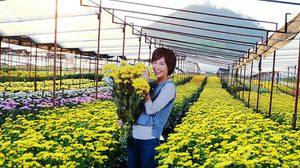เที่ยวไร่อุ่นรักของพุดชมพู ตามรอยละครบัลลังก์ดอกไม้ ณ สวนบิ๊กเต้ มวกเหล็ก สระบุรี
