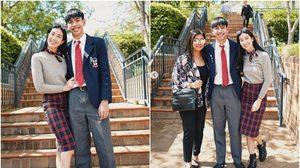 ยินดีกับ น้องไมโล น้องชายคนเล็ก มิ้นต์ ชาลิดา จบการศึกษาที่ออสเตรเลีย