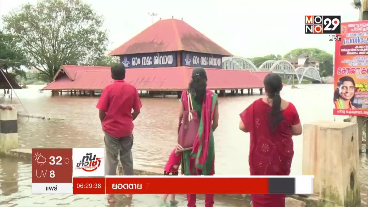 ยอดตาย 774 คนจากฝนตกหนัก-น้ำท่วมทั่วอินเดีย