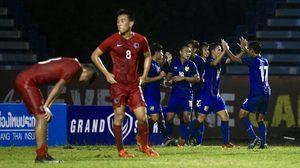 'เอกนิษฐ์' ซัดทดเจ็บ! ช้างศึกชุดปรีโอลิมปิกอุ่นเฉือน ฮ่องกง U23 1-0