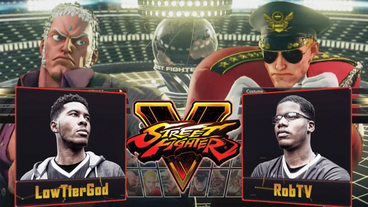 การแข่งขัน  Street Fighter V 2018 | รอบ Elimination Match ระหว่าง LowTierGod VS RobTV