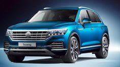 Volkswagen Touareg เปิดตัวครั้งแรกที่เมืองจีน