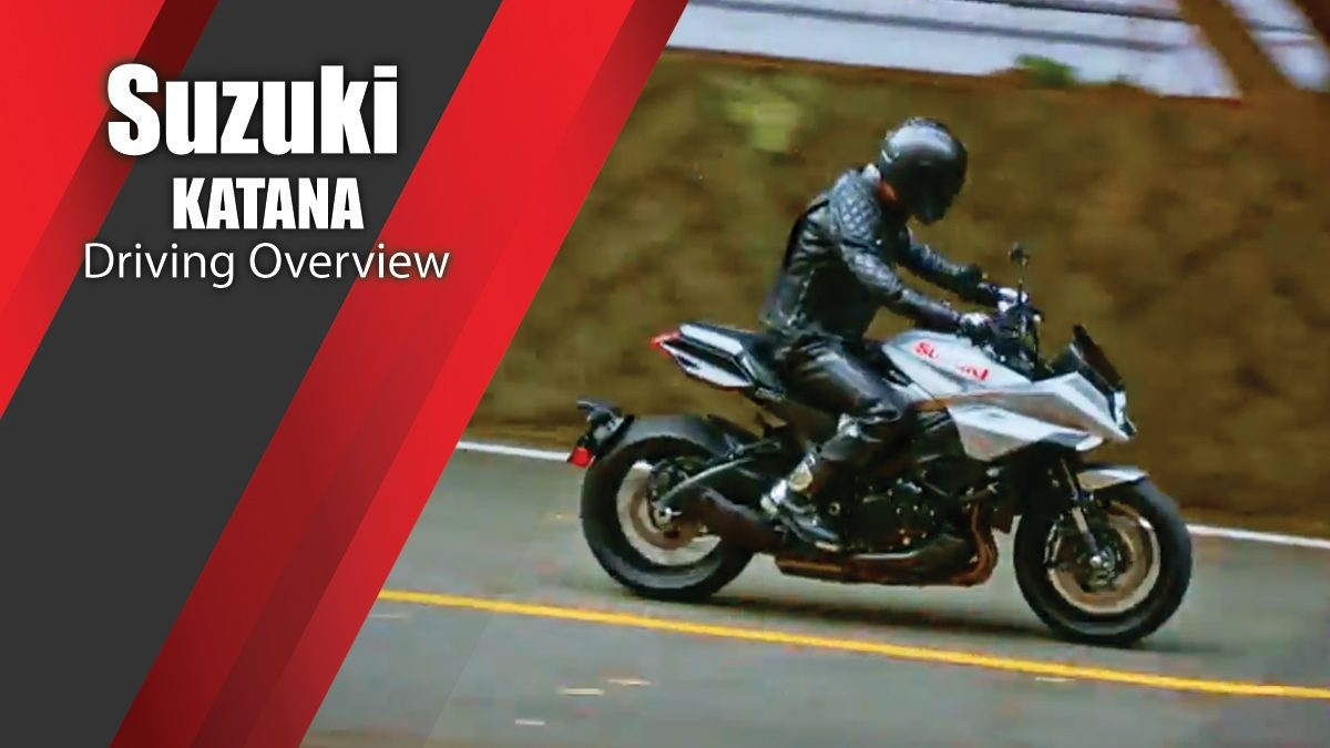 Suzuki KATANA Driving Overview