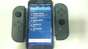 เจ๋ง!! สมาร์ทโฟน Android สามารถเชื่อมต่อกับ Joy-con ของ Nintendo Switch แม้เป็นมือถือรุ่นเก่า
