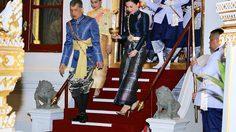 ภาพพระราชทาน พิธีเฉลิมพระราชมณเฑียร - วันเสาร์ที่ 4 พฤษภาคม 2562