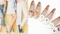 อดใจไม่ไหว รองเท้า Disney Tsum Tsum คอลเลคชั่นใหม่แบ๊วเว่อร์