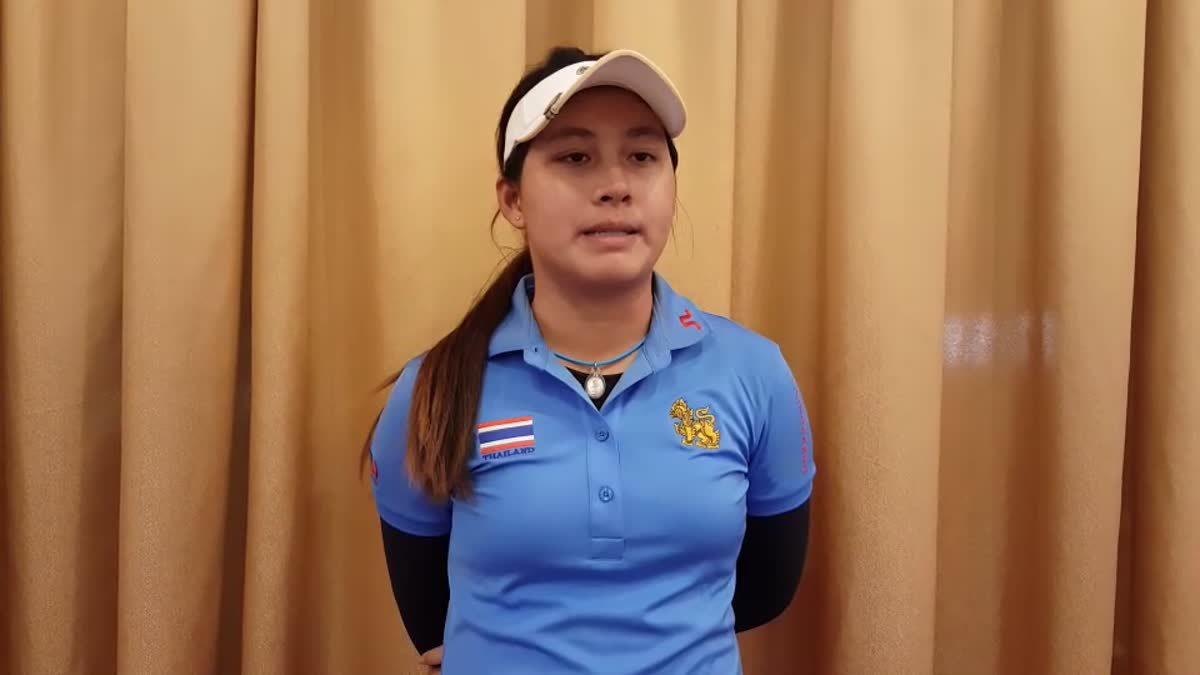 สัมภาษณ์น้องจีน อาฒยา นักกอล์ฟ ทีมชาติไทย ในเอเชียนเกมส์ 2018