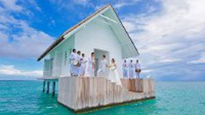 บ้านกลางทะเล สถานที่แต่งงานในฝันของหลายๆ คน