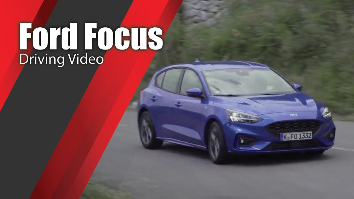 Ford Focus Driving Video
