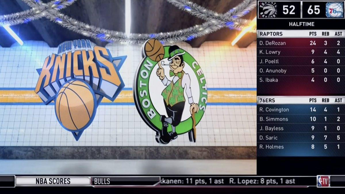 ไฮไลท์การแข่งขันบาสเกตบอล NBA คู่ บอสตัน เซลติกส์ VS นิวยอร์ก นิกส์