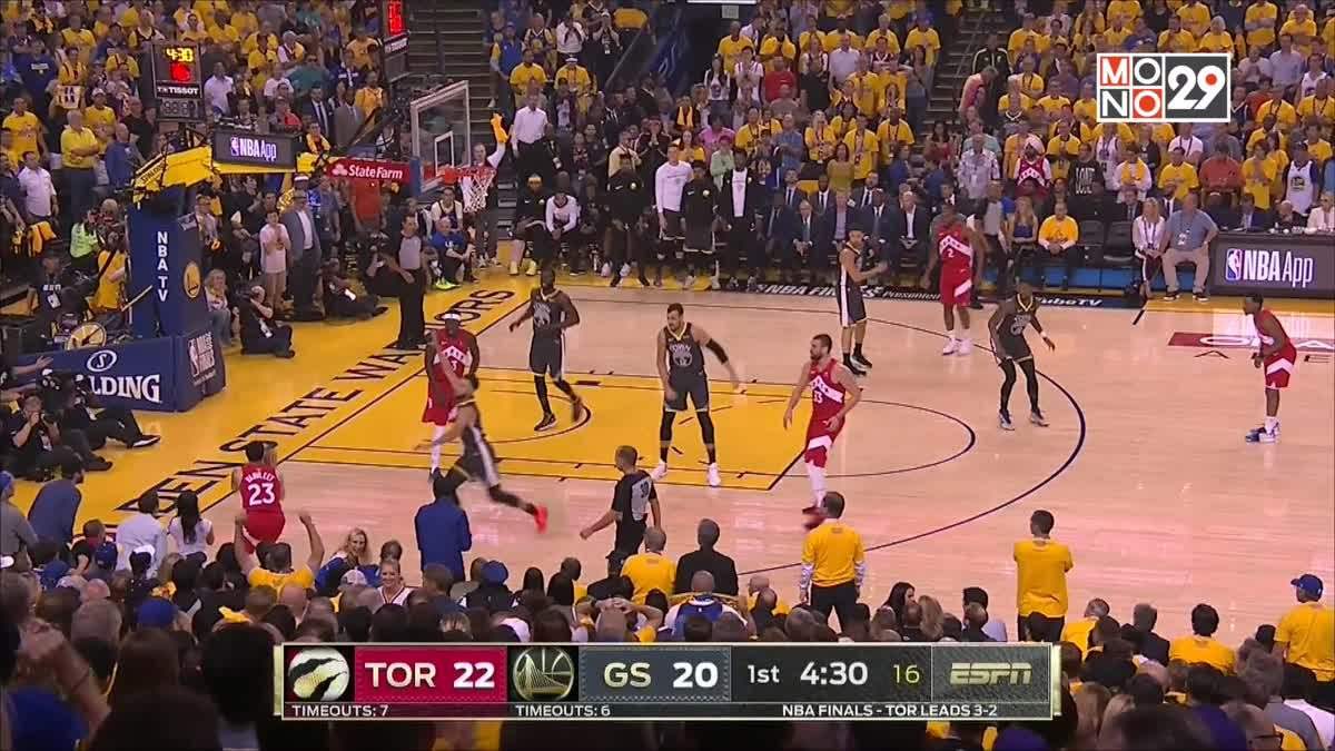 [Highlight] Golden State Warriors VS. Toronto Raptors [GAME6]