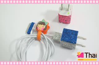 Easy DIY สายชาร์จโทรศัพท์ฟรุ้งฟริ้ง by Teen.mthai
