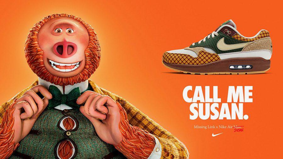 Nike Air Max Susan ได้แรงบันดาลใจจากคอสตูมเจ็บๆ ของคาแรคเตอร์ Mr. Link