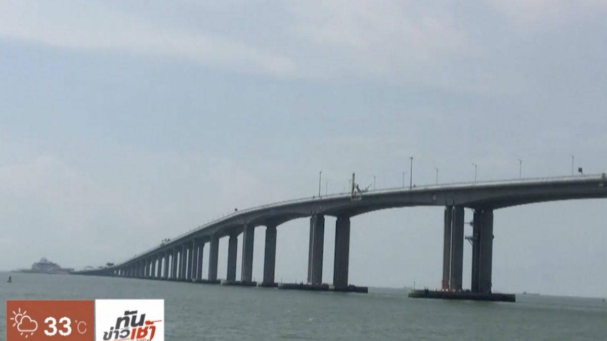 จีนเปิดสะพานยาวสุดในโลกข้ามปากแม่น้ำไข่มุก