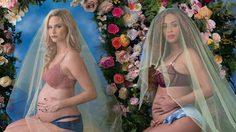 เมแกน คิง เอดมอนด์ ถ่ายภาพอวดท้องลูกแฝด แบบเดียวกับ บียอนเซ่!!