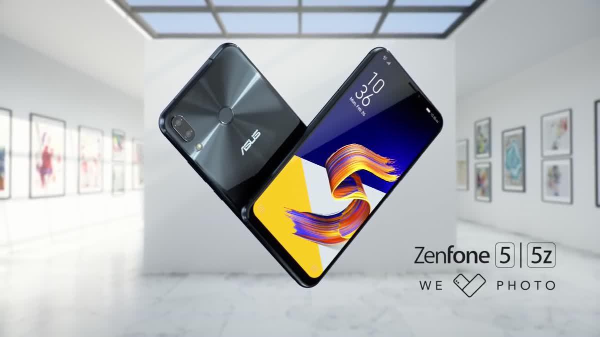 ZenFone 5 / 5z หน้าจอเต็มมีรอยบาก กล้องหลังคู่แนวตั้งพร้อม AI และฟีเจอร์ ZeniMoji