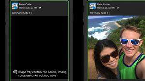 สุดยอด!! facebook เปิดตัว tool ช่วยเหลือคนตาบอดให้เข้าถึงภาพบนฟีดได้ยิ่งขึ้น