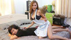 มิน RUSH แปลงโฉมเป็นแม่บ้านสุดเซ็กซี่มาดูแลหนุ่มผู้โชคดีถึงห้อง