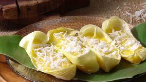 วิธีทำ ขนมข้าวโพด ขนมไทยโบราณ อร่อย หอมละมุน