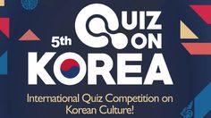 ชวนกูรูเกาหลีชิงรางวัลกว่า 3 แสน ใน Quiz on Korea 2016