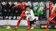 ผลบอล : เยอรมัน vs เซอร์เบีย !! โกลเซิร์บ มหาอุตม์เซฟยื้อเจ๊า อินทรีเหล็ก อุ่นเกือก 1-1